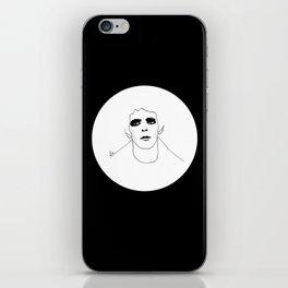Lou Reed B & W iPhone Skin