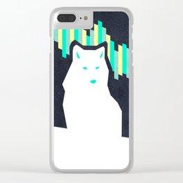 Aurora polaris Clear iPhone Case