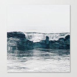 Glassy Blues Canvas Print