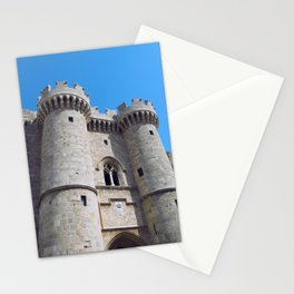 palace of the grandmasters rhodes Stationery Cards