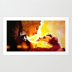 Find River Song Art Print