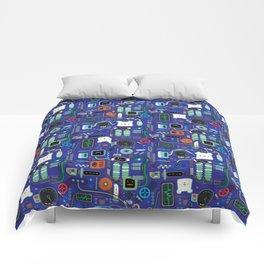 Bread Bear Machine ShanHaiJung - Blue Comforters