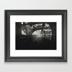 New York City: Williamsburg Bridge Framed Art Print