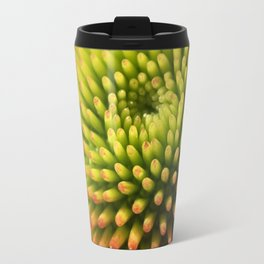 "Echinacea, ""Coneflower"" Travel Mug"