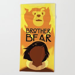 Brother Bear Beach Towel