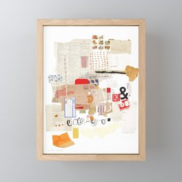 Flea Market Framed Mini Art Print