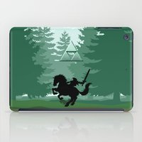 legend of zelda iPad Cases featuring Legend Of Zelda by Kesen