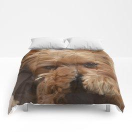 Put Em' Up - The Yorkie Dog Comforters