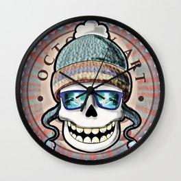 Skull candy! Wall Clock