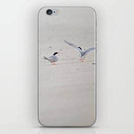 Yelling at each other iPhone Skin
