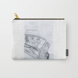 Lonely Cowboy Carry-All Pouch