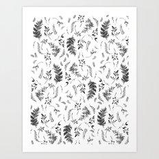 FERN PRINT Art Print