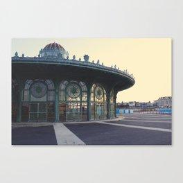 The Carousel Canvas Print