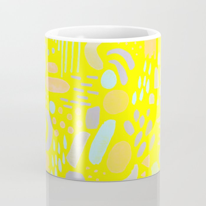 Dancing shapes Coffee Mug