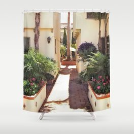 Spanish Villa Shower Curtain