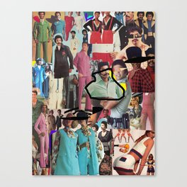 Seventies Delight Canvas Print