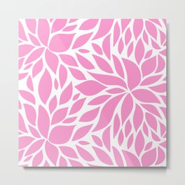Bloom - Taffy Metal Print