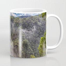 Thunderous beauty of Barron Falls Coffee Mug