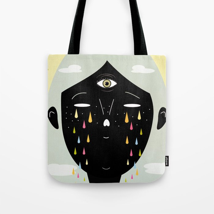 SANTA Tote Bag