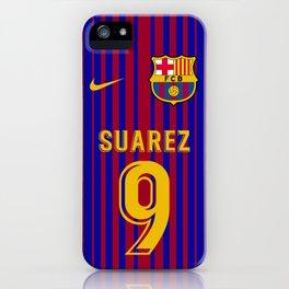 Suarez Edition - Barcelona Home 2017/18 iPhone Case