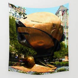 World Trade Center Globe jGibney The MUSEUM Society6 Gifts Wall Tapestry