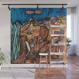 Gold Coins and Peanuts Wall Mural