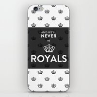lorde iPhone & iPod Skins featuring Royals by Little J