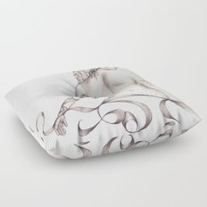 Essence of Ink  Floor Pillow