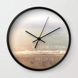 Sunrise in Yakutat Wall Clock