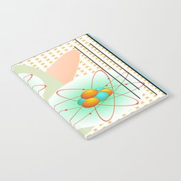 Mid-Century Modern Art Atomic 1.0 Notebook
