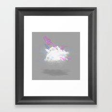 Dust-Ups: Jedi vs Wizard Framed Art Print