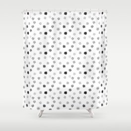Brushmark Polka Dot Shower Curtain