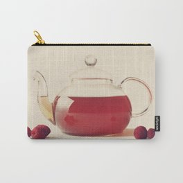 Raspberry Tea (Retro and Vintage Still Life Photography) Carry-All Pouch