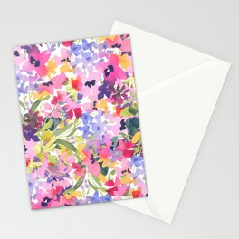Pink Lavender Stationery Cards