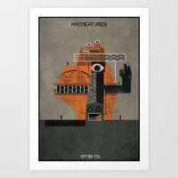 06_ARCREATURES-01 Art Print
