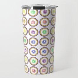 Pride Circle Pattern #2, Bingo Travel Mug