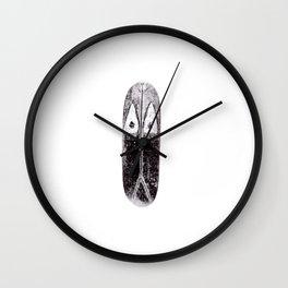 Tribal shield Wall Clock