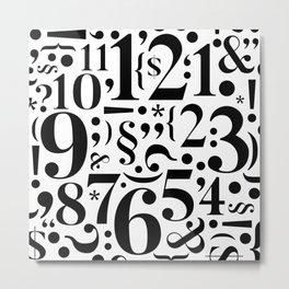 for clocks - april/25 Metal Print