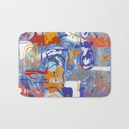 Shamanic Painting 01 Bath Mat