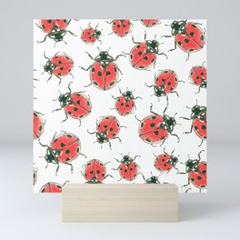 Ladybugs Mini Art Print