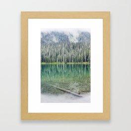 Joffre Lake, Canada Framed Art Print