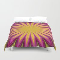 blossom Duvet Covers featuring Blossom by David Zydd