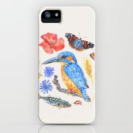 Summer Wildlife - Neutral iPhone Case