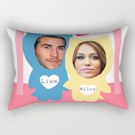 Miley and Liam 507 Rectangular Pillow
