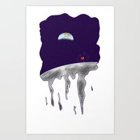 Moon Dreams Art Print