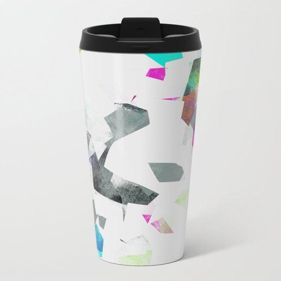 Camouflage XXXII Metal Travel Mug