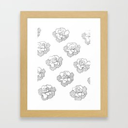 comfortinrepetition Framed Art Print
