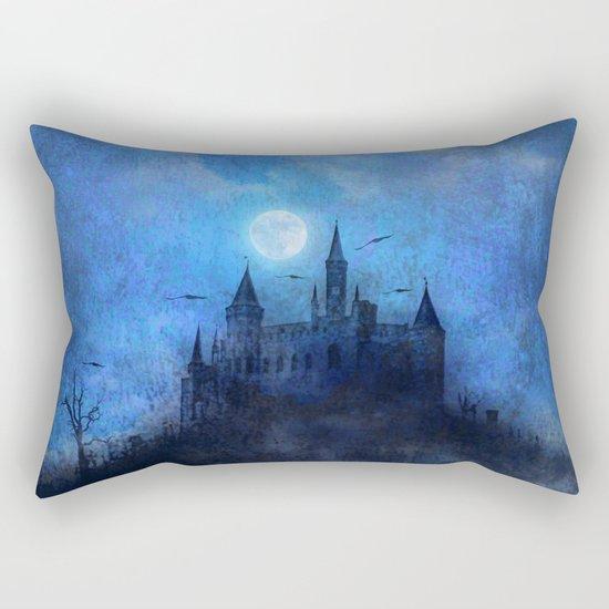 Mystical castle Rectangular Pillow