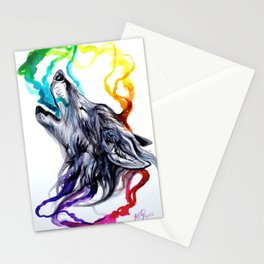 Smoke Signals Stationery Cards
