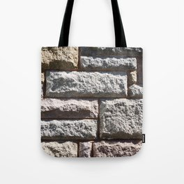 Stone Cladding Tote Bag